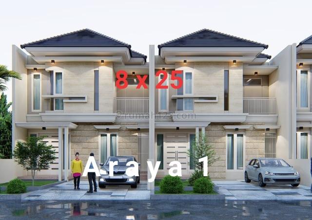 RUMAH BARU MINIMALIS 2LT ARAYA I, Sukolilo, Surabaya