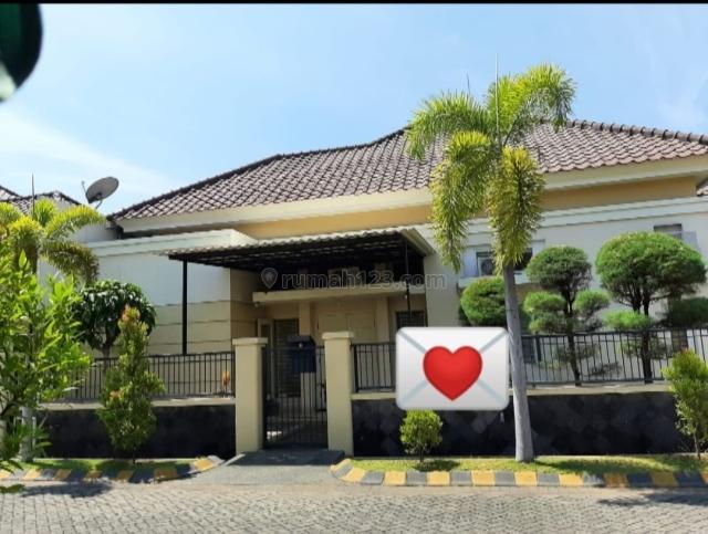 (TP.RIA) Rumah Central Park Gunung Anyar Row Jalan Lebar, Surabaya, Gununganyar, Surabaya