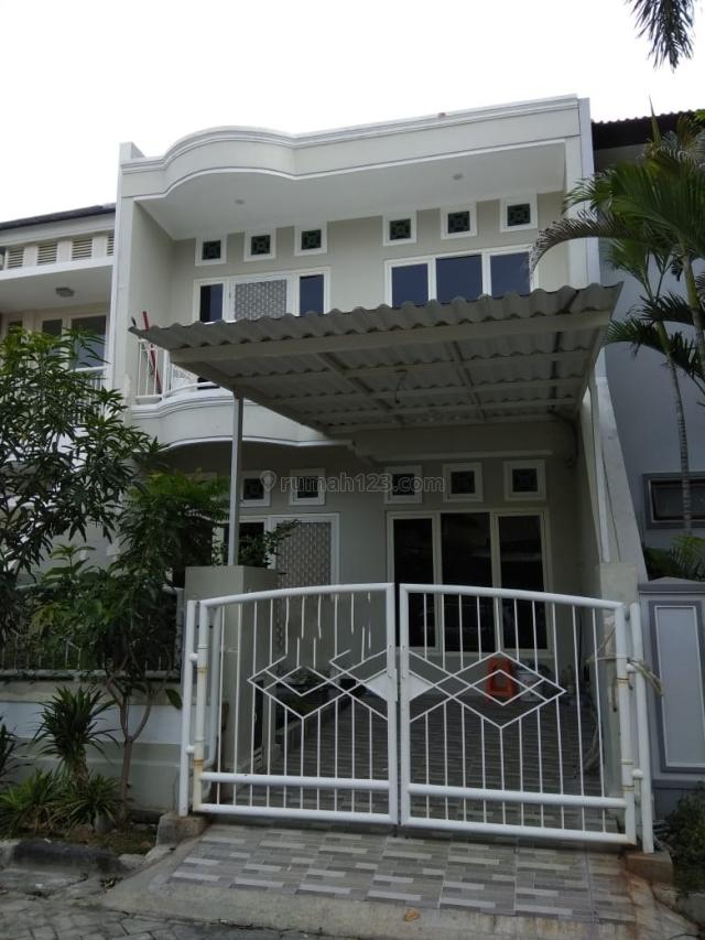 Rumah Taman Mutiara Pkuwon Cty, New, Minimalis, Semi Furnish, Mulyorejo, Surabaya