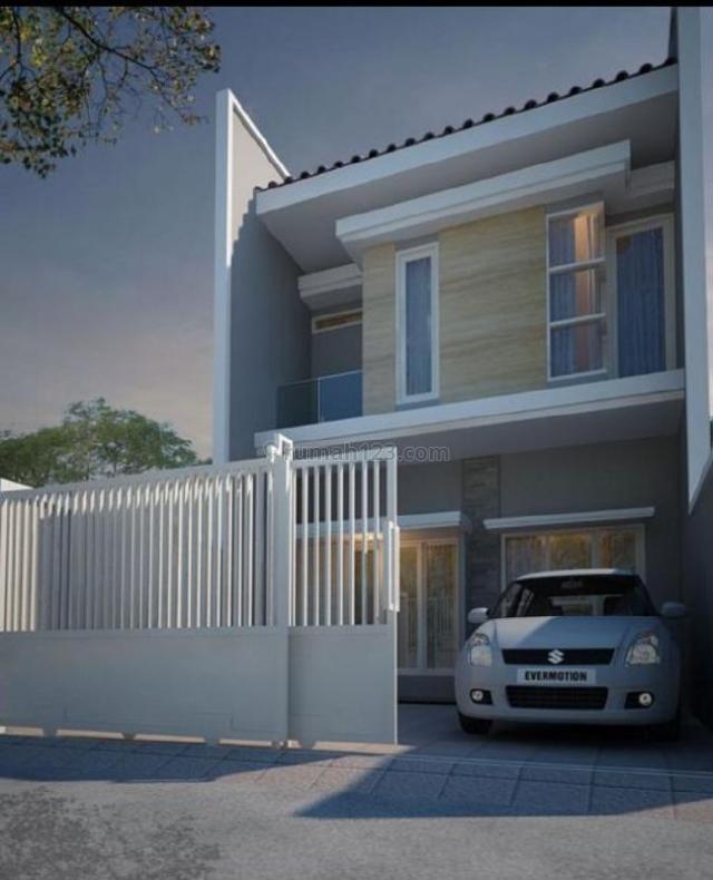 Rumah Baru Minimalis Manyar Kertoadi - Xytna, Sukolilo, Surabaya