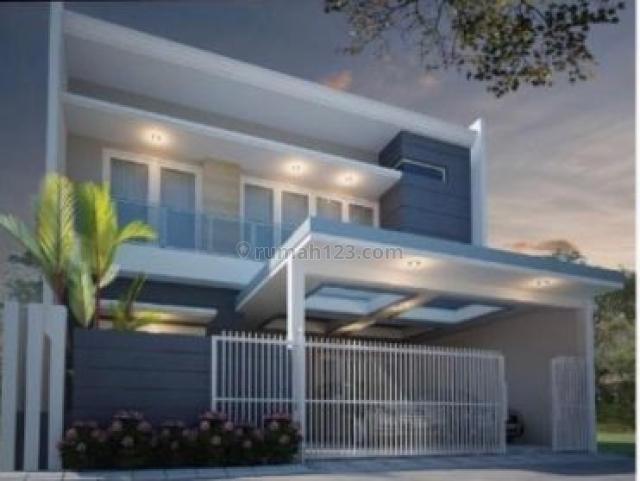 Rumah Baru Minimalis Sutorejo Prima Indah  - Xytna, Mulyorejo, Surabaya