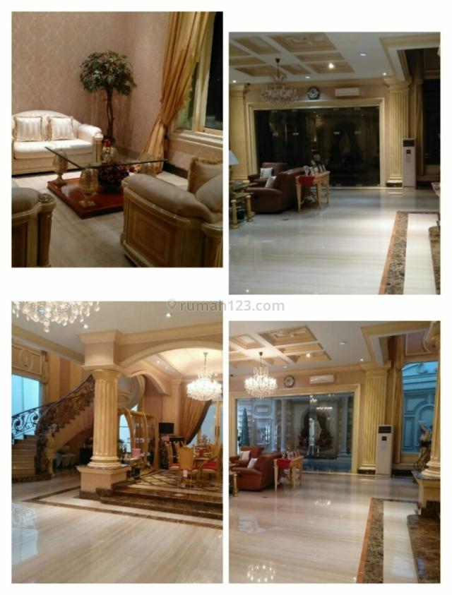 Rumah Mewah Design Mediterania Pantai Mutiara Jakarta, Pantai Mutiara, Jakarta Utara