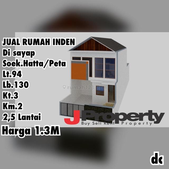 Rumah Baru di Komplek Leuwisari, BKR, Peta, Bandung, Leuwi Panjang, Bandung