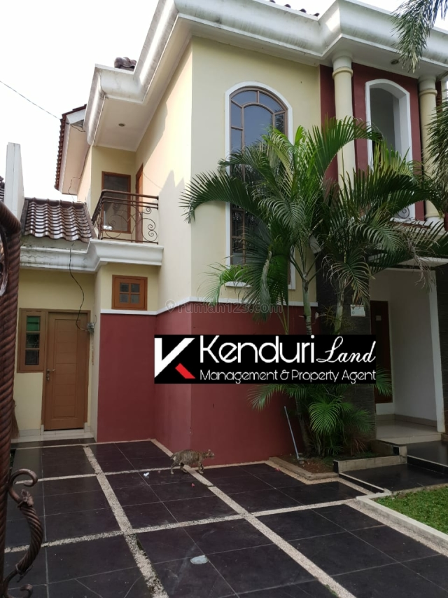 Rumah cluster mewah tanah luas lokasi strategis dekat tol dan stasiun, Jagakarsa, Jakarta Selatan