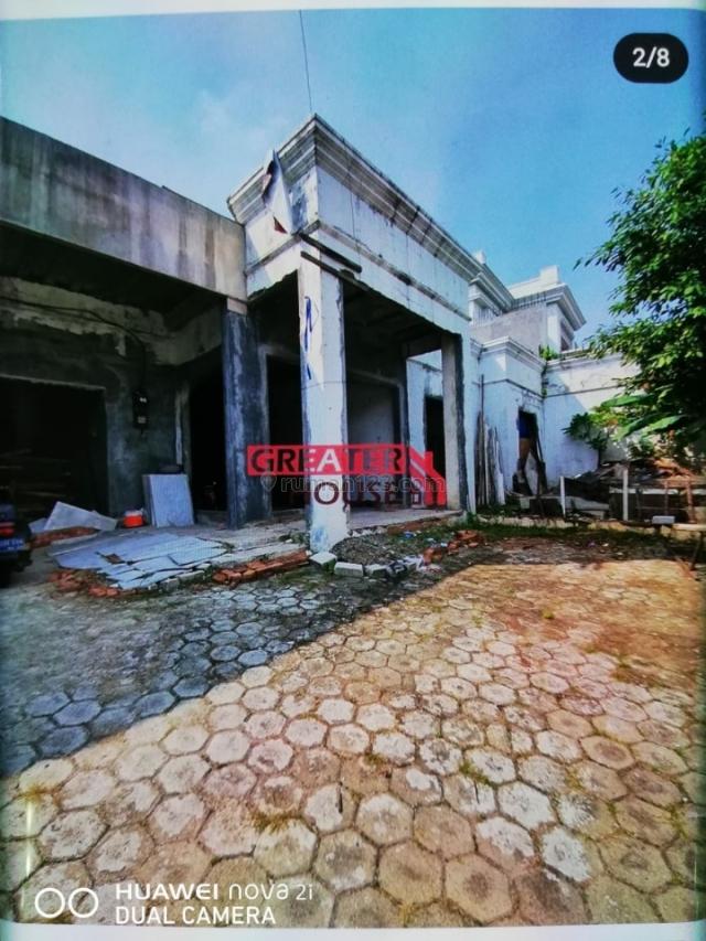 Rumah 1/2 jadi Kemang Utara,harga NJOP., Kemang, Jakarta Selatan