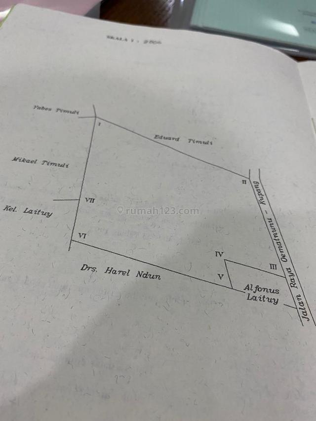 For Sale Tanah Kavling 2.2 ha di Kupang Barat - NTT, Kupang Barat, Kupang