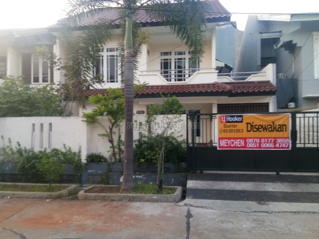 Rumah  2 Lantai Sunter Paradise, Sunter, Jakarta Utara