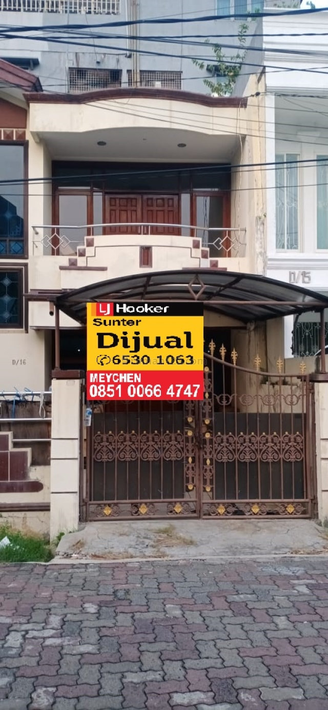 Rumah Jalan Lebar Sunter Sacna, Sunter, Jakarta Utara