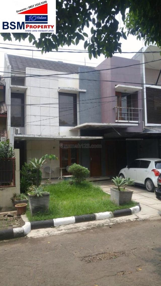 Rumah Bagus Dalam Cluster Di Pondok Gede Bekasi, Lingkungan Asri, Pondok Gede, Bekasi
