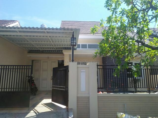 rumah asri baru renov luas dan murah (siap huni), Waru, Sidoarjo