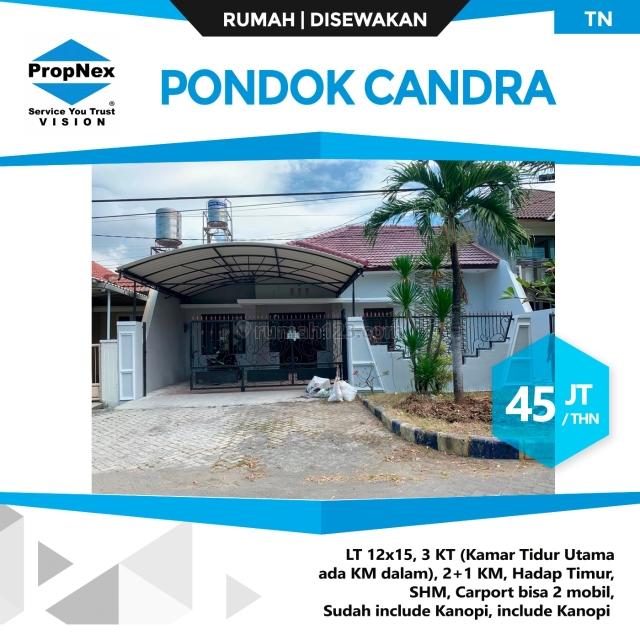 Rumah Pondok Candra Siap Huni Baru Renov Kinyis2, Waru, Sidoarjo