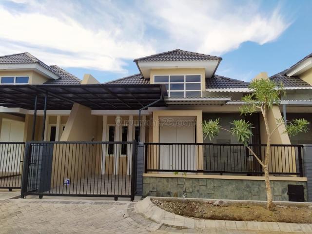 rumah lingkungan bagus minimalis Pondok Tjandra, Waru, Sidoarjo