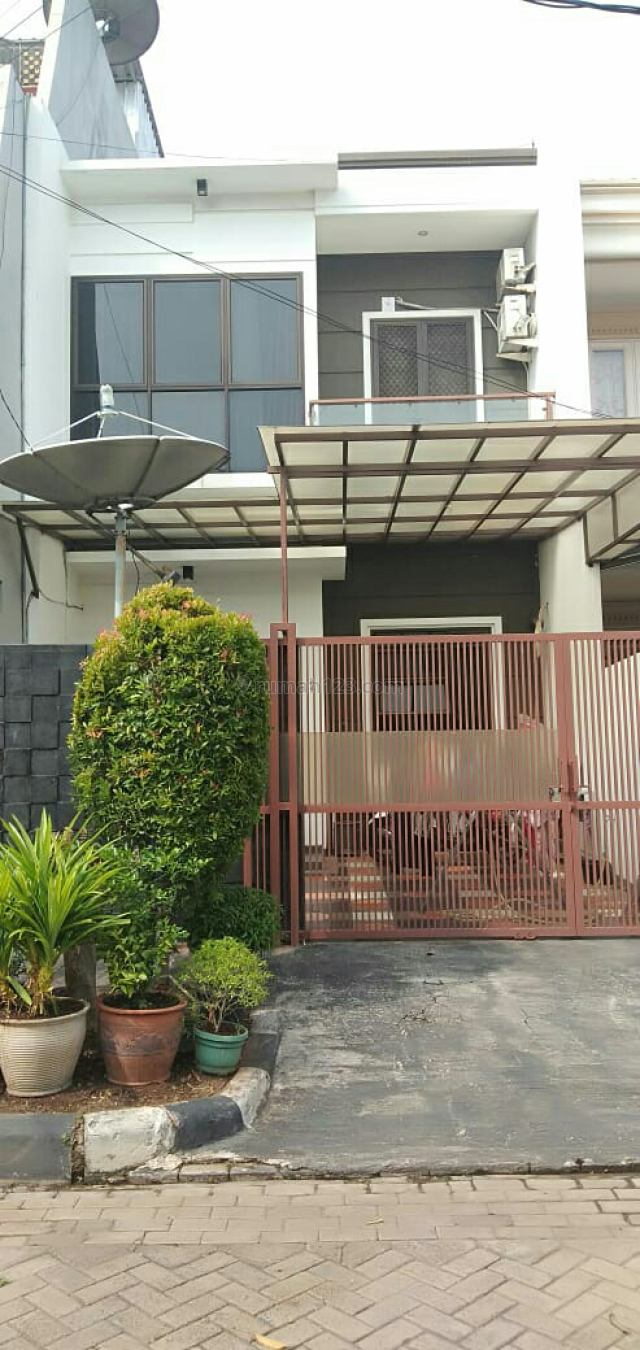 Rumah baru 3lnt, cluster, LT 105 m2, jalan lebarr, SHM, harga 3.5 Milyard, Sunter, Jakarta Utara