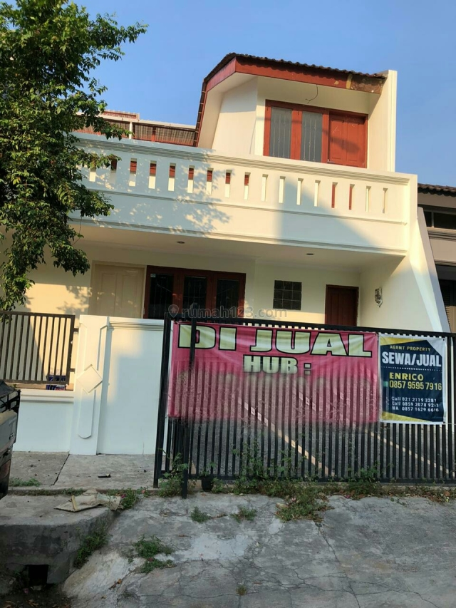 SSeD 093 : Rmh 3.5lt uk.8x18 m2 jln 2 mbl dlm gate per blok aman di Intercon, Intercon, Jakarta Barat