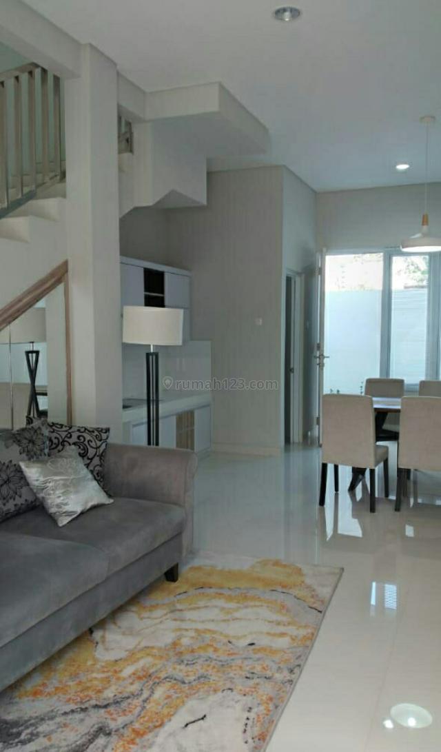 Rumah baru cantik minimalis, 2 lantai,jalan lebarr 2 mobil, SHM, 1.55 Milyard, Kelapa Gading, Jakarta Utara