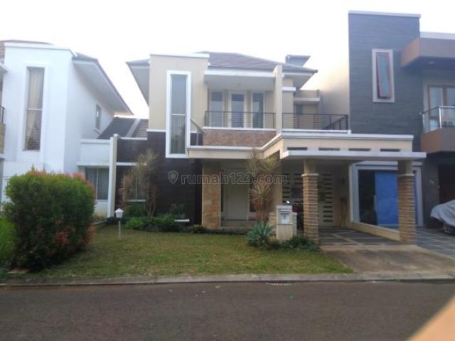 Rumah Semi Furnished di Sutera Onyx Alam Sutera Tangerang, Alam Sutera, Tangerang