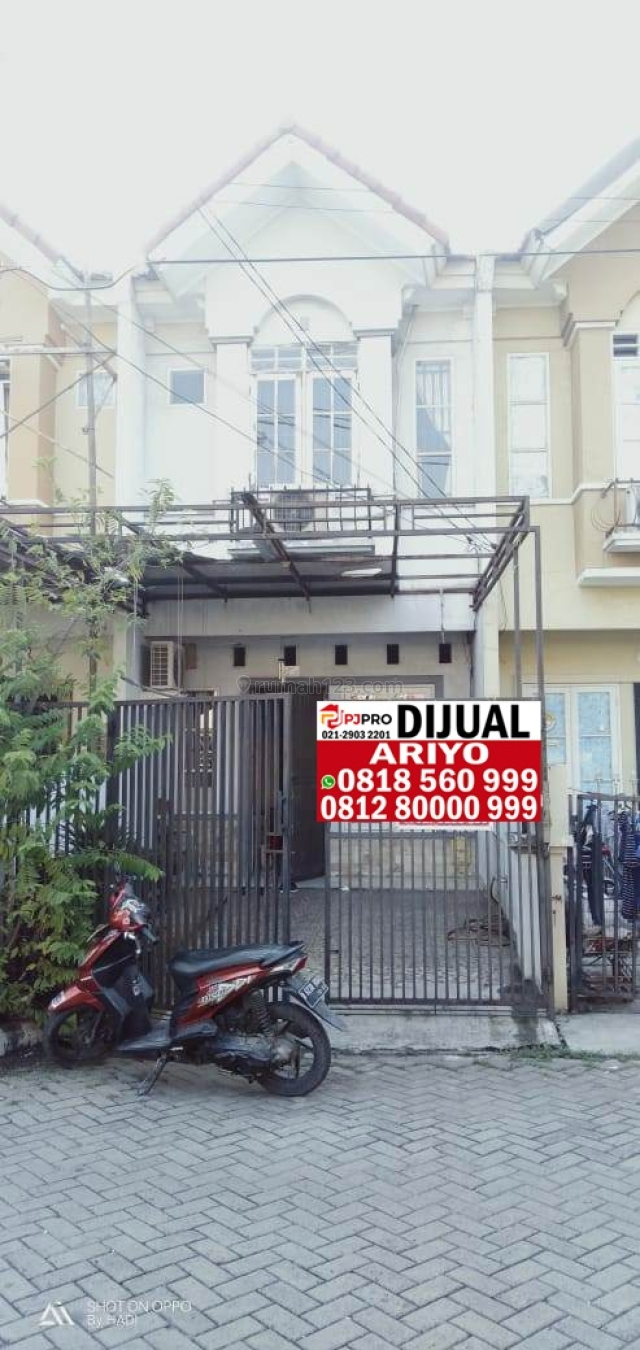 Rumah Mutiara Taman Palem, Cengkareng, Jakarta Barat