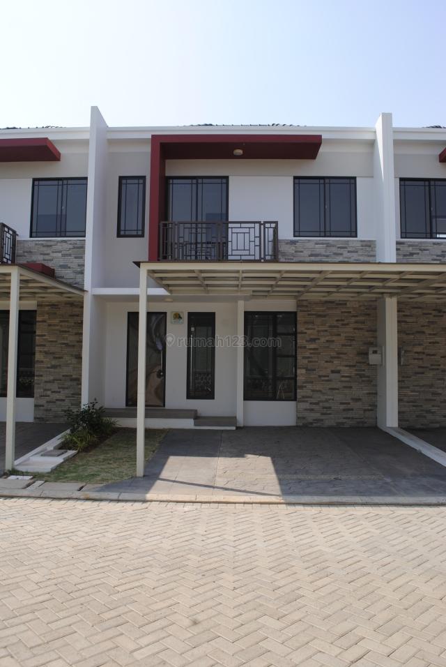 Rumah di Green Lake City , Cluster Asia 7x16 m2 , Hrg: 50 jt /thn , Standard Developer , Siap Huni, Green Lake City, Jakarta Barat