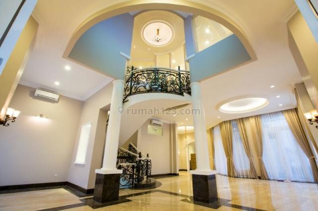 Rumah Mewah Hook Pondok Indah 2 Lantai 6 Kamar Siap Huni Harga Nego, Pondok Indah, Jakarta Selatan