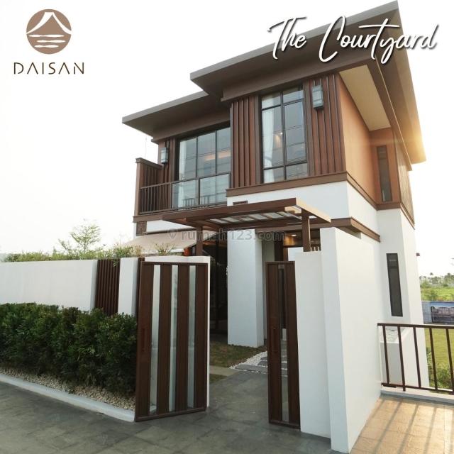 Rumah Nuansa Jepang Mewah Double Decker Daisan Lavon Swancity, Cikupa, Tangerang