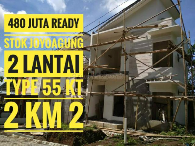 Turun harga rumah ready Joyoagung kota malang, Dinoyo, Malang