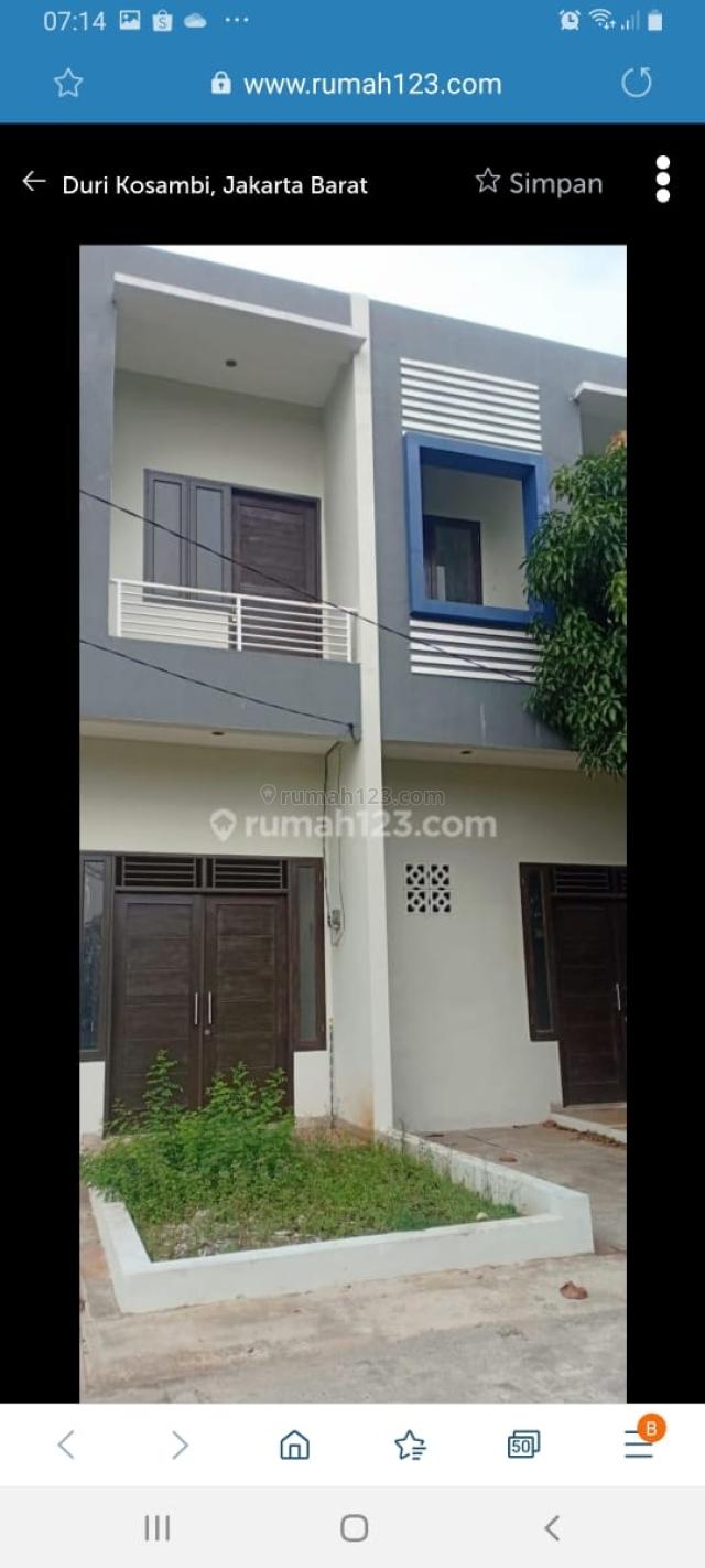 Rumah di Kresek Raya, LT 85m2, Harga 32,5jt, Duri Kosambi, Jakarta Barat, Duri Kosambi, Jakarta Barat