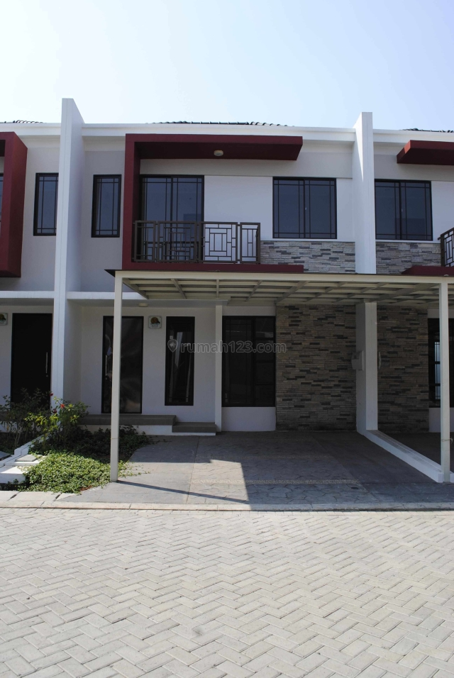 Rumah Asia 6x15 Full furnish Hrg: 60jt/thn, Green Lake City, Green Lake City, Jakarta Barat