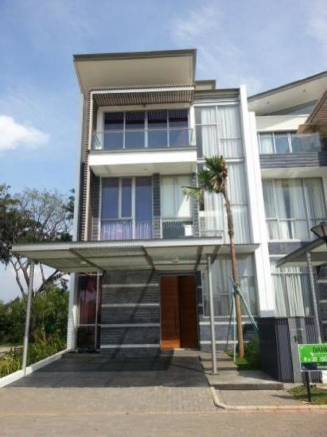 Rumah Pantai Indah Kapuk Golf Island 8mx20m Cluster Mozart, Pantai Indah Kapuk, Jakarta Utara