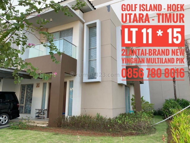 RUMAH GOLF ISLAND - HOEK - TIMUR -LANGKA, Pantai Indah Kapuk, Jakarta Utara