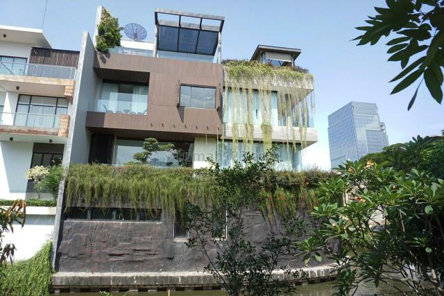 rumah brand new garden house uk20x30 utara timur, Pantai Indah Kapuk, Jakarta Utara
