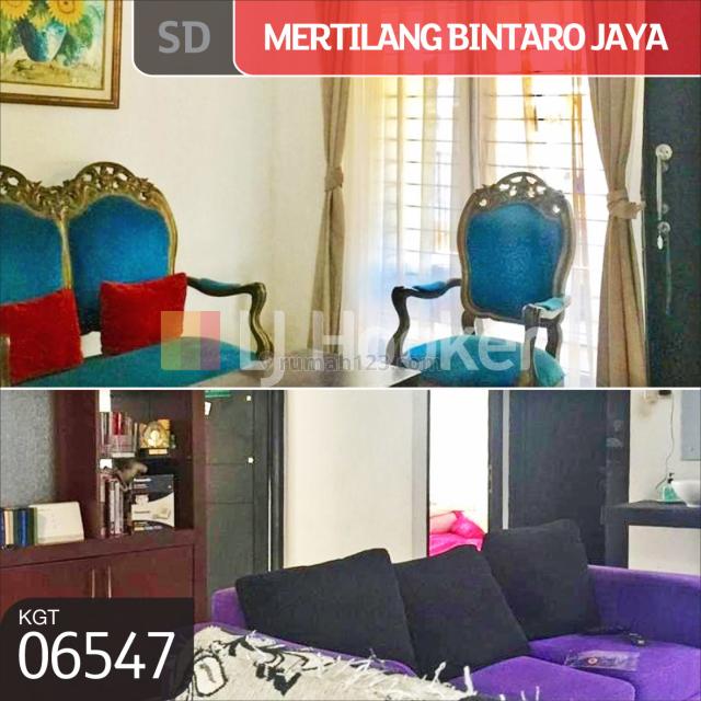 Rumah Jl. Mertilang Bintaro Jaya, Tangerang Selatan, Banten, Bintaro, Jakarta Selatan