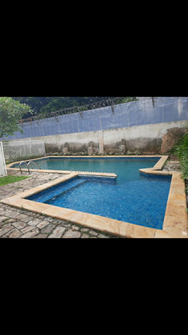 Rumah siap huni 1 lantai yg nyaman, cocok Embassy di jl Brawijaya Keb Baru, Kebayoran Baru, Jakarta Selatan