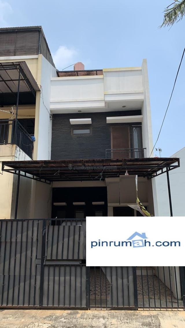 Rumah dijual 3 lantai, 3 kamar hos7486348   rumah123.com
