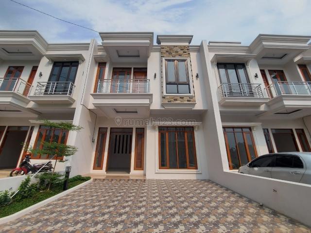 Rumah baru dalam komplek siap huni akses setrategis di jakarta selatan, Jagakarsa, Jakarta Selatan