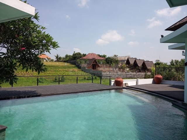 villa view sawah di area yang sangat tenang, Canggu, Badung