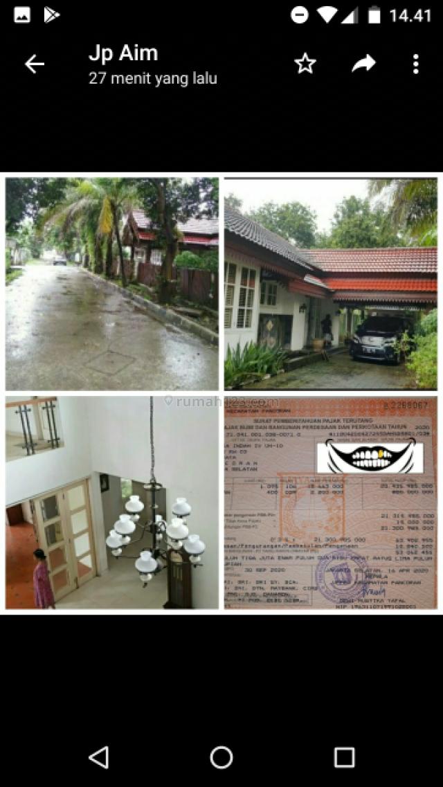 Rumah + pool mampang jakarta selatan, Mampang, Jakarta Selatan