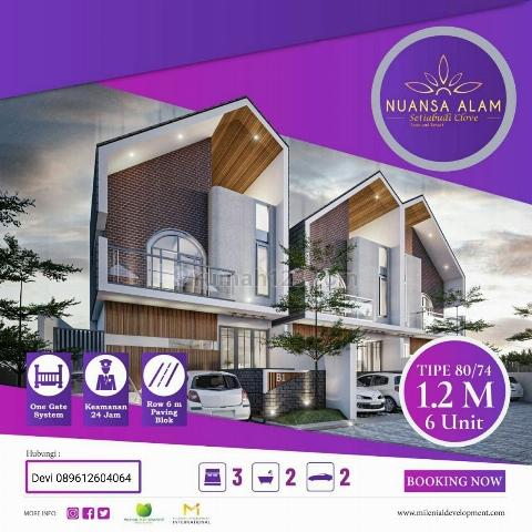 Rumah Villa harga terjangkau di bandung utara, Cidadap, Bandung