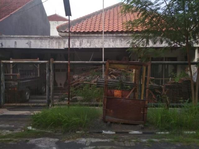 Rumah Harga Tanah Saja di Gayungsari Barat, Surabaya P0209, Gayungan, Surabaya