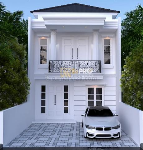Rumah CLASSIC MODERN, TAMAN LUAS, CAR PORT 2 MOBIL, MURAH, HARGA NEGO, Jagakarsa, Jakarta Selatan