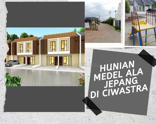 Rumah Model Jepang di Bandung Timur 2 lantai Harga selantai sudah dapat 3 Kamar Tidur DP Ringan, Ciwastra, Bandung