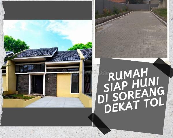 :Modal 40 JT dapat Rumah di  CLUSTER SOREANG strategis dekat Sekali Tol Soroja dan Lingkungan Ramai, Soreang, Bandung