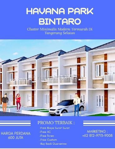 """RUMAH BINTARO SUPER STRATEGIS - """"HAVANA PARK"""", Bintaro, Jakarta Selatan"""