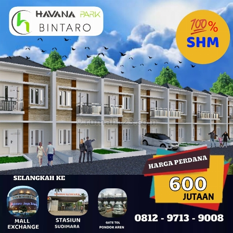 "RUMAH BINTARO SUPER MURAH - ""HAVANA PARK"", Bintaro, Jakarta Selatan"