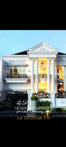 Rumah mewah ada Kolam Renang  Sedang Di Bangun Dekat ke Cilandak, Jagakarsa, Jakarta Selatan