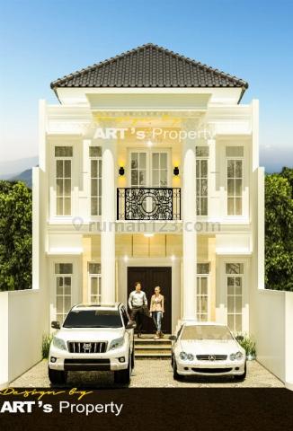 Rumah Baru indent Bangun 1 km ke jalan Tol brigip Andarav, Jagakarsa, Jakarta Selatan