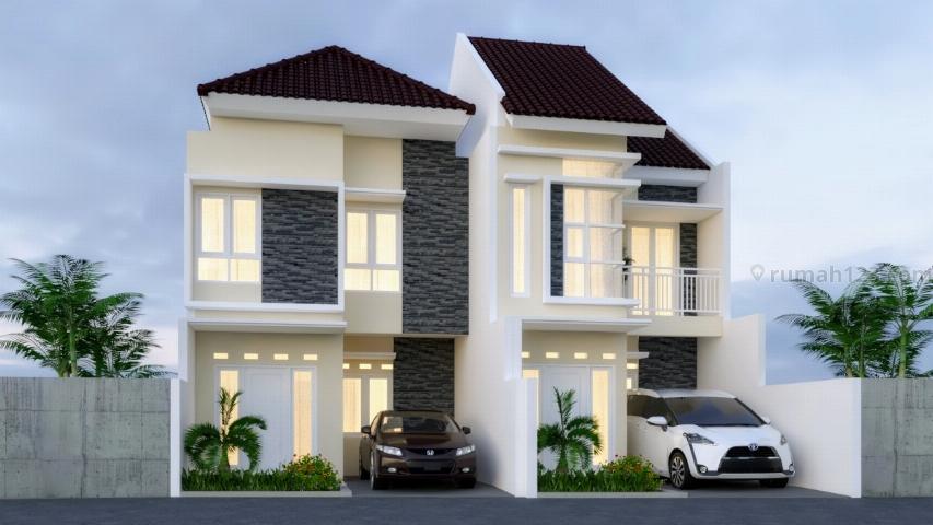 Rumah 2LT Indent Bisa Custom, Akses Dekat Jalan Angkot, Pintu TOL DESARI, PEMBAYARAN FLEXIBEL, Cipedak, Jakarta Selatan