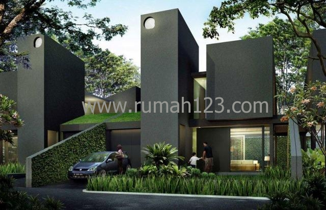 Rumah Minimalis Desain Arsitek Ternama Dalam Townhouse, Kebayoran Lama, Jakarta Selatan