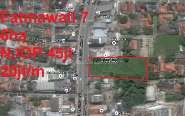 Tanah Daerah Fatmawati (belakang PT Metropolitan Golden Managemen), Kebayoran Baru, Jakarta Selatan