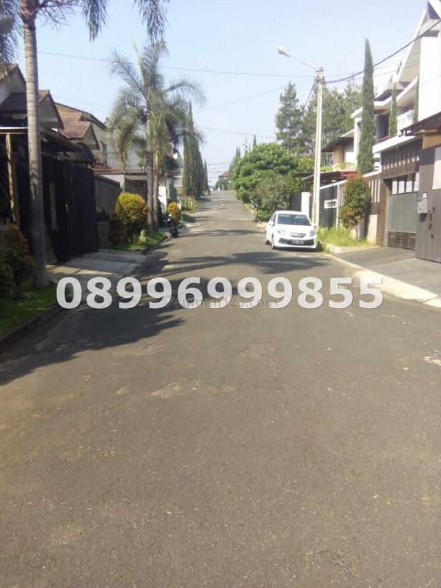 Tanah di pondok hijau, kotak 8x23, hadap utara, SHM, jarang ada, Geger Kalong, Bandung