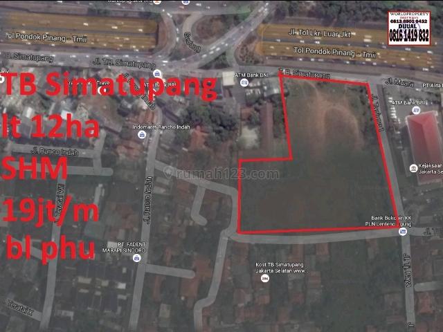 Kavling Daerah TB Simatupang, TB Simatupang, Jakarta Selatan